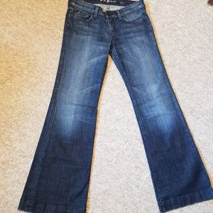 "7 for all Mankind ""Dojo"" the lexie petite size 27"